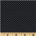 Paris Poplin Dot Black
