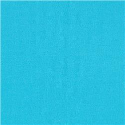 Brushed Poly Lycra Jersey Knit Solid Turquoise