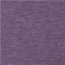 Sophia Stretch Double Knit Heather Purple Fabric