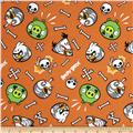 Angry Birds Skeleton Birds Orange