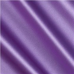Debutante Stretch Satin Fabric Violet