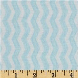 Michael Miller Out To Sea Water Chevron Breeze Blue