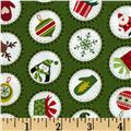 Christmas Mini Spots Green