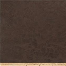 Fabricut Highfield Faux Leather Chocolate