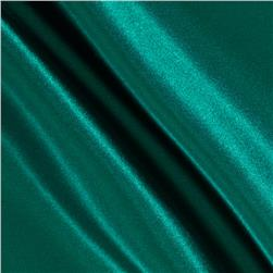 Poly Charmeuse Satin Jade Fabric