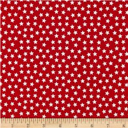 Riley Blake Lucky Star Red
