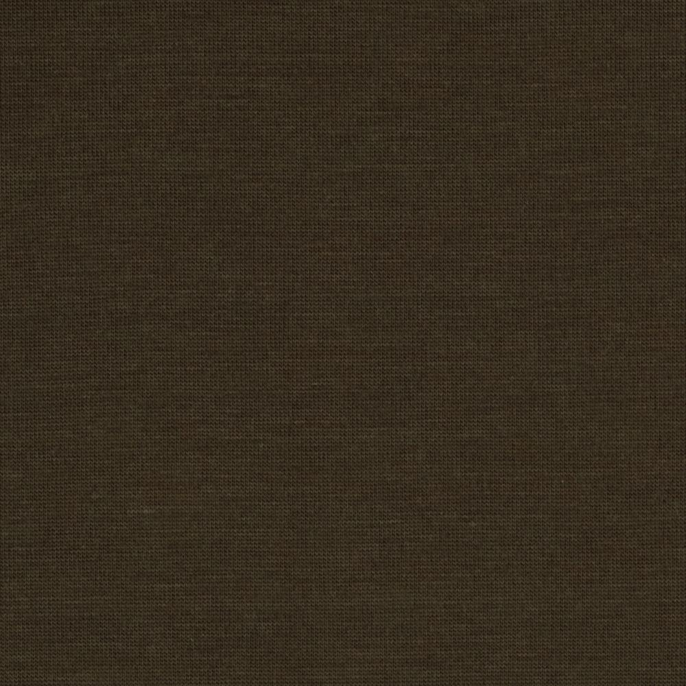 Rayon Blend Tissue Jersey Knit Brown