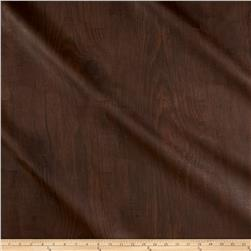 Richloom Tough Faux Leather Dellwood Walnut