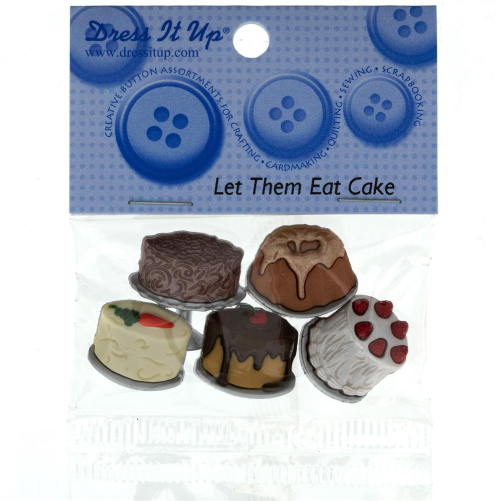 Dress It Up Embellishment Buttons Let Them Eat