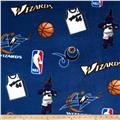 NBA Fleece Washington Wizards Toss Blue