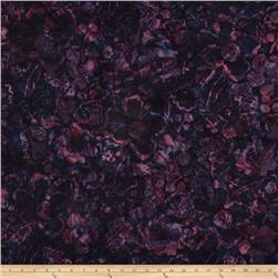 Bali Batiks Handpaints Large Floral Wine