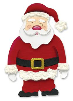 Sizzix Originals Die Santa Claus Large