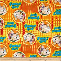 Family Guy Dots Orange