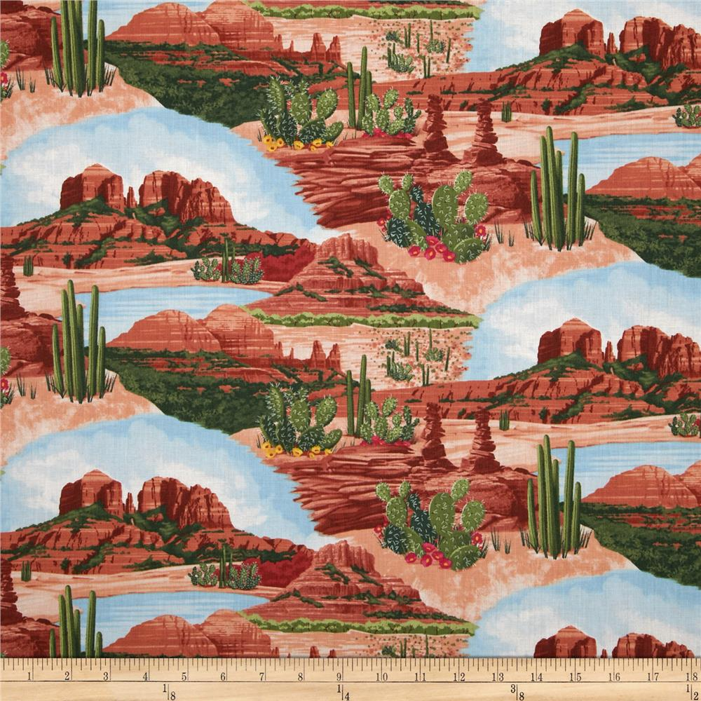 Timeless Treasures Southwest Sedona Scenic/Scenic