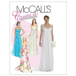McCall's Misses' Lined Dresses Pattern M6030 Size A50