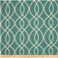 Robert Allen @ Home Crypton Helix Ogee Turquoise