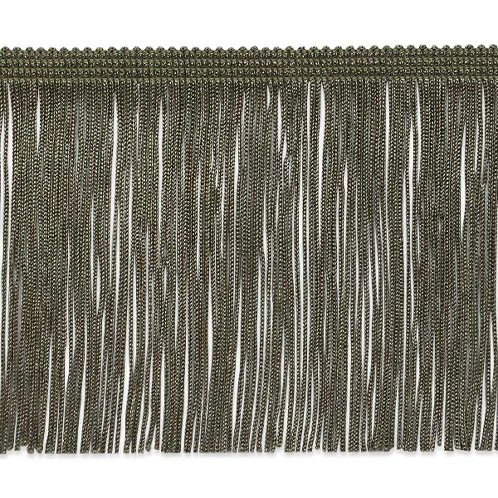 "4"" Chainette Fringe Trim Taupe"