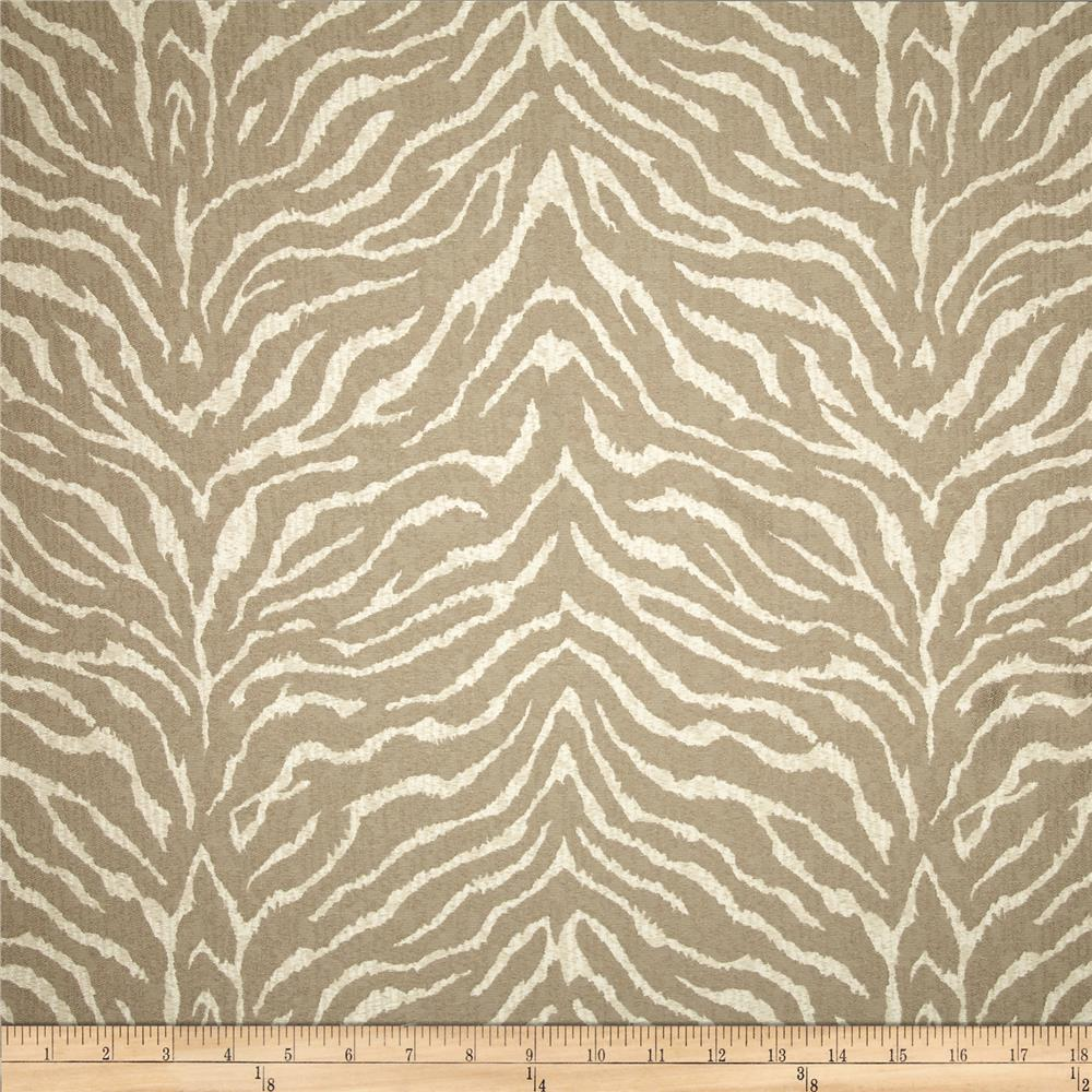 Golding tigra satin jacquard taupe discount designer for Jacquard fabric