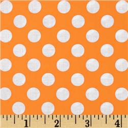 Michael Miller Ta Dot Apricot Fabric
