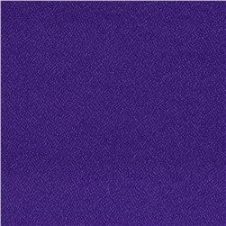 Poly Crepe Purple Fabric