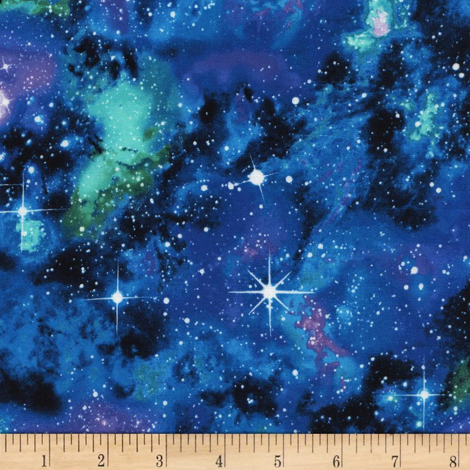 timeless treasures out of this world galaxy galaxy discount designer fabric. Black Bedroom Furniture Sets. Home Design Ideas