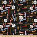 Grand Slam Everything Baseball Black