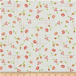 Moda LuLu Lane Meadow White/Coral