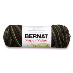 Bernat Super Value Ombre Yarn Renegade
