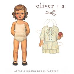 Oliver + S Apple Picking Dress Pattern Size