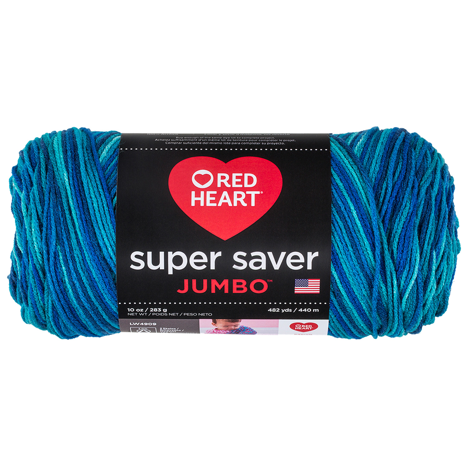 Red Heart Super Saver Jumbo Macaw by Coats & Clark in USA