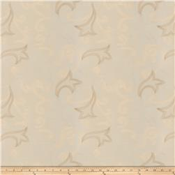 Fabricut Wim Embroidered Dupioni White
