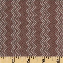 Silk Road Cassandra Zig Zag Rose Fabric