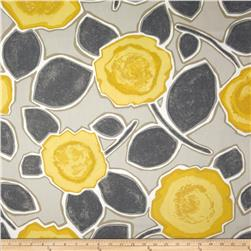 Dwell Studio Beale Garden Citrine Fabric