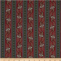 Border Companions Paisley Red/Green