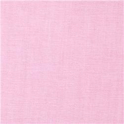 Kaufman Oxford Yarn Dyed Solid Pink Fabric
