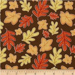 Give Thanks Leaves Brown
