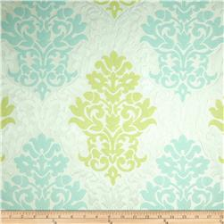 Waverly Romantic Rhyme Jacquard Celery