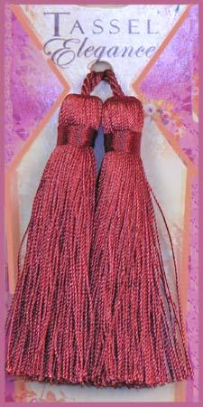 Expo 4'' Rayon Tassel Red