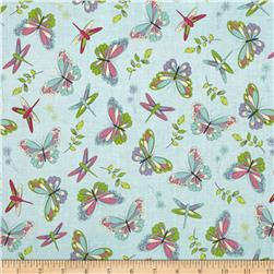 Pretty Little Things Butterflies Light Teal