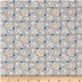Pinafores & Petticoats Patchwork Posies Blue