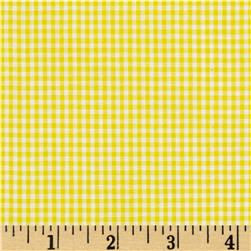 "Imperial 60"" Gingham 1/16"" Yellow"