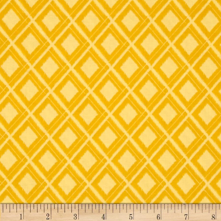 Moda Simply Colorful Ikat Yellow