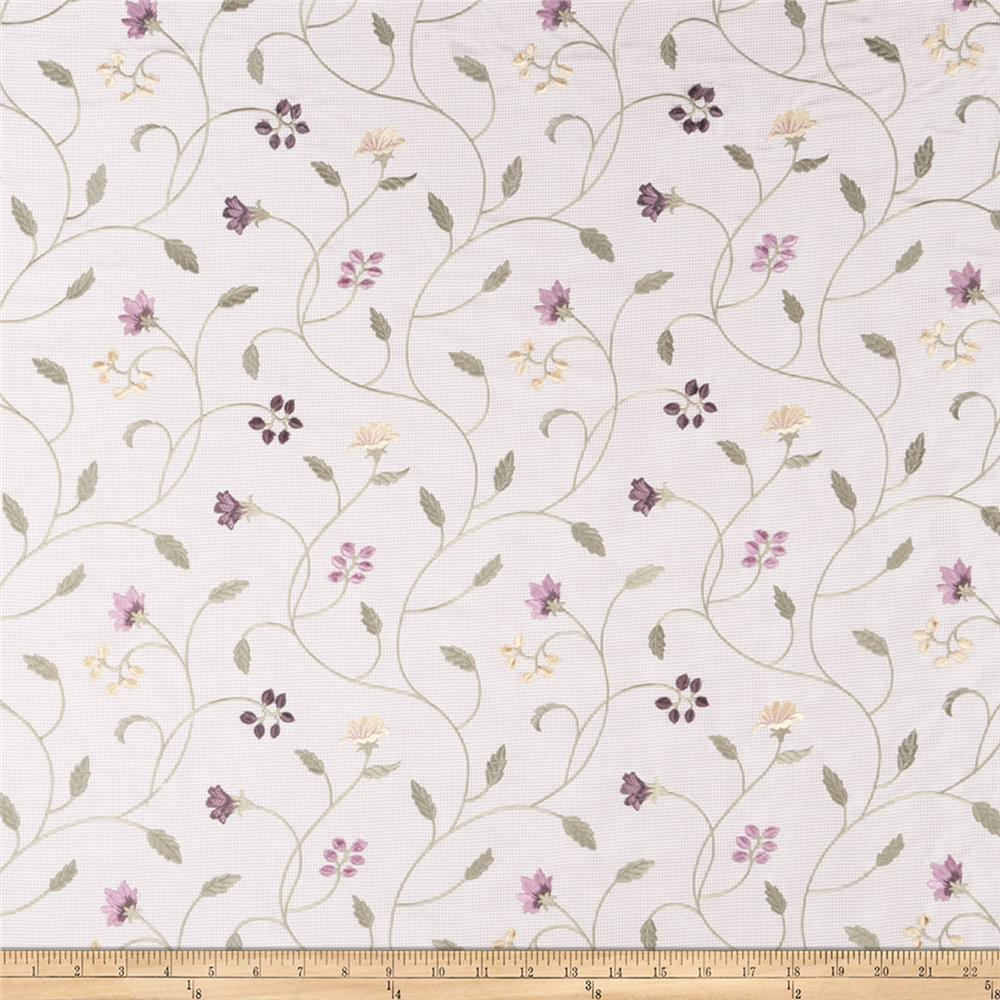 Fabricut Prosecco Floral Pansy Ja