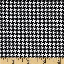 Kanvas Great Scotts Houndstooth White Fabric