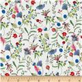 Liberty of London Tana Lawn Temptation Meadow Red/Blue/Green
