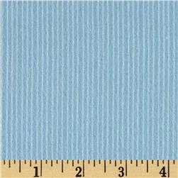 Aunt Polly's Flannel Pin Stripe Light Blue/White