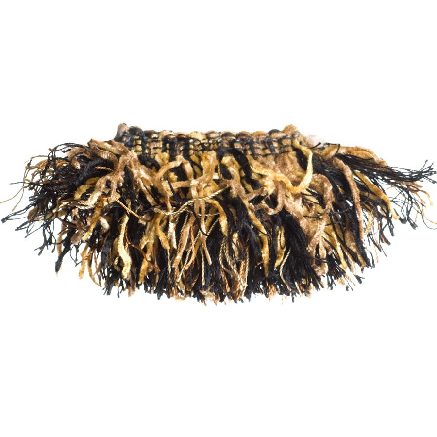"Trend 2.25"" 01464 Brush Fringe Calico"