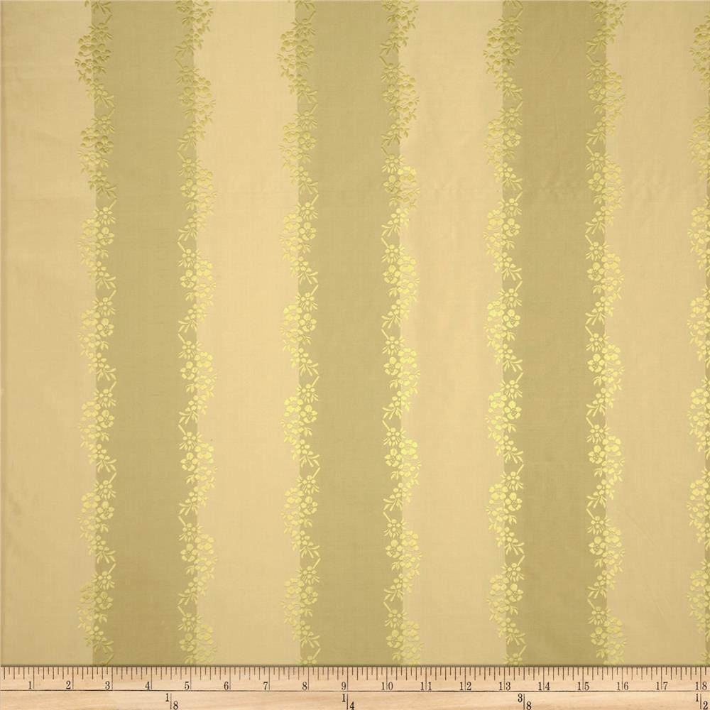 Robert Allen Promo Stripe Silk Pear