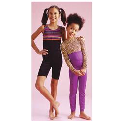 Kwik Sew Girl's Unitards Pattern Sizes 8-14