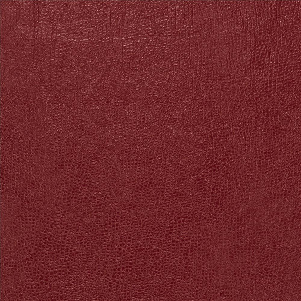 Fabricut 03343 Faux Leather Vino